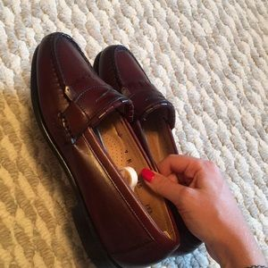Bass Shoes - Bass brown leather shoe size 7